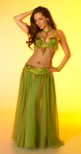 lime gold burgundy Bella belly dance bellydance costume