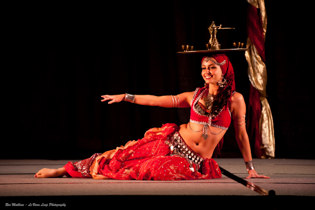 Lara performs a turkish tea tray dance at BDUC 2012