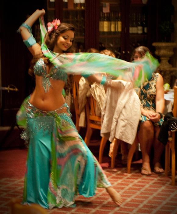 Lara dancing at Tannourine